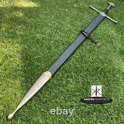 Lord of the Rings Anduril Aragorn Strider Ranger Sword with Scab CUSTOM ENGRAVED