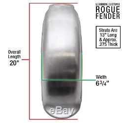 Lowbrow Customs Rogue Steel Rear Fender 58-84 Shovelhead Panhead bobber chopper