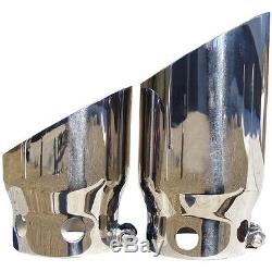 MBRP T5111 Stainless Exhaust Tip for 08-17 Ford F250 F350 F450 Diesel 6.4L 6.7L