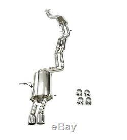 Maximizer Catback Exhaust For 2001-2006 BMW E46/325i/325Ci/330i/330Ci (3pcs)