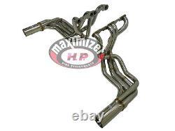 Maximizer Exhaust Header & Side Mount Pipe 63-82 Corvette Stingray Small Block