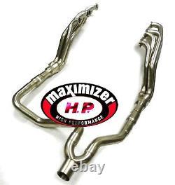 Maximizer Long Tube Header For 1988-1998 GMC Chevy C1500 C2500 C3500 5.0L 5.7L