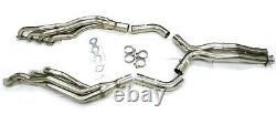 Maximizer Long Tube Headers with X-Pipe for Mercedes Benz 03-06 E55 CLS55 AMG