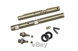 NP 205 Stainless steel, NEW twin-stick, shift rails, Ford, withdetent & inst kit