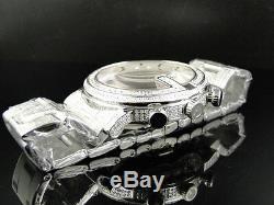 New Custom Mens 101 G Chrono Real 44 MM Diamond Gucci Ya101334 Watch 8.85 Ct