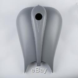 New Stretch 6.6 Gallon Custom Gas Fuel Tank For Harley Touring Baggers FLHT FLTR