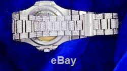 Patek Philippe Nautilus Stainless Steel 5711/1A Watch 2700 Diamond Honeycomb Set