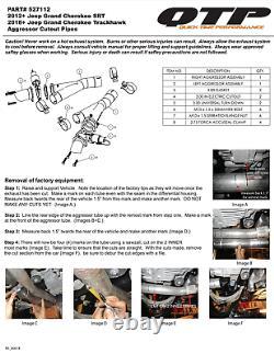 Qtp 2012-2020 Jeep Srt8 Srt Trackhawk Durango 6.4l 6.2l V8 Electric Cutouts