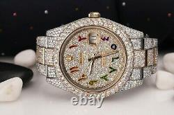 Rolex Datejust 41 126303 Custom Rainbow Arabic Script Dial Stainless Steel and 1