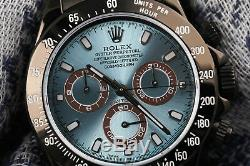 Rolex Oyster Perpetual Cosmograph Daytona Black PVD/DLC Coated SS Watch 116523