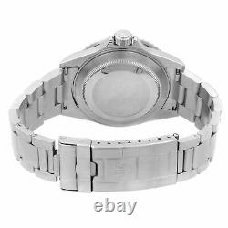 Rolex Submariner Date Steel No Holes Custom Blue Dial Automatic Men Watch 16610