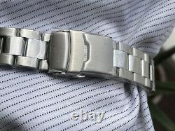 SEIKO SKX Custom Sub Mod Black COMEX Vintage Sapphire Ceramic Lume Nh35 LTD