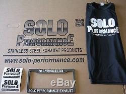 Smart Car Exhaust Center Dual Exit All Stainless by Solo Performance