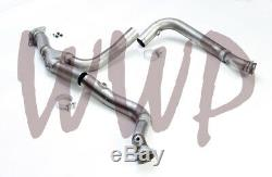 Stainless Steel 3Off Road Exhaust Y Pipe Downpipe 15-20 Ford F150 3.5L EcoBoost