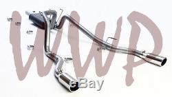 Stainless Steel Dual Cat Back Exhaust Muffler Kit 09-18 Dodge Ram 1500 5.7L Hemi