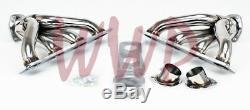Stainless Steel Exhaust Header Manifold 51-58 Chrysler/Mopar Hemi V8 331/354/392