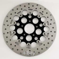 Stainless Steel Mesh 11.5 Floating Rear Rotor for Harley & Custom Models