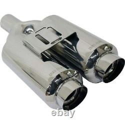 Stainless Steel Performance Muffler For 1985-1999 Ford F-250 1964-2008 Mustang