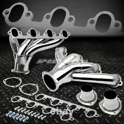 Stainless Tubular Hugger Manifold Header Exhaust For 429/460 Ford Bbc Big Block