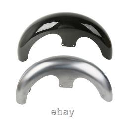 Unpainted/Painted 23 Motor Wrap Front Fender For Harley Touring Custom Baggers