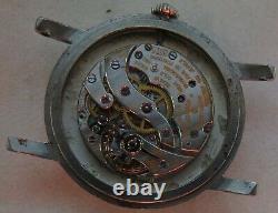 Vacheron Constantin cal. 1001 mens wristwatch nickel steel custom case